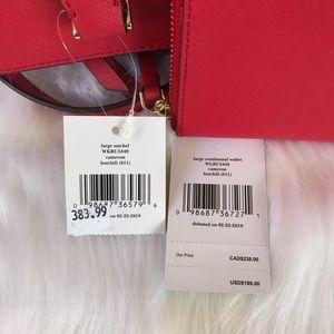 kate spade Bags - 💃Kate Spade Cameron Large Satchel and Wallet Set